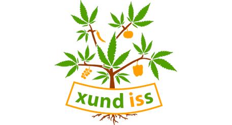 Xund iss Logo